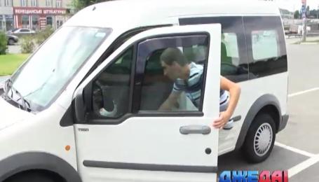 Как в Украине воруют машины