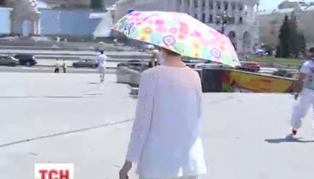 В Україні очікують похолодання, дощі та грози