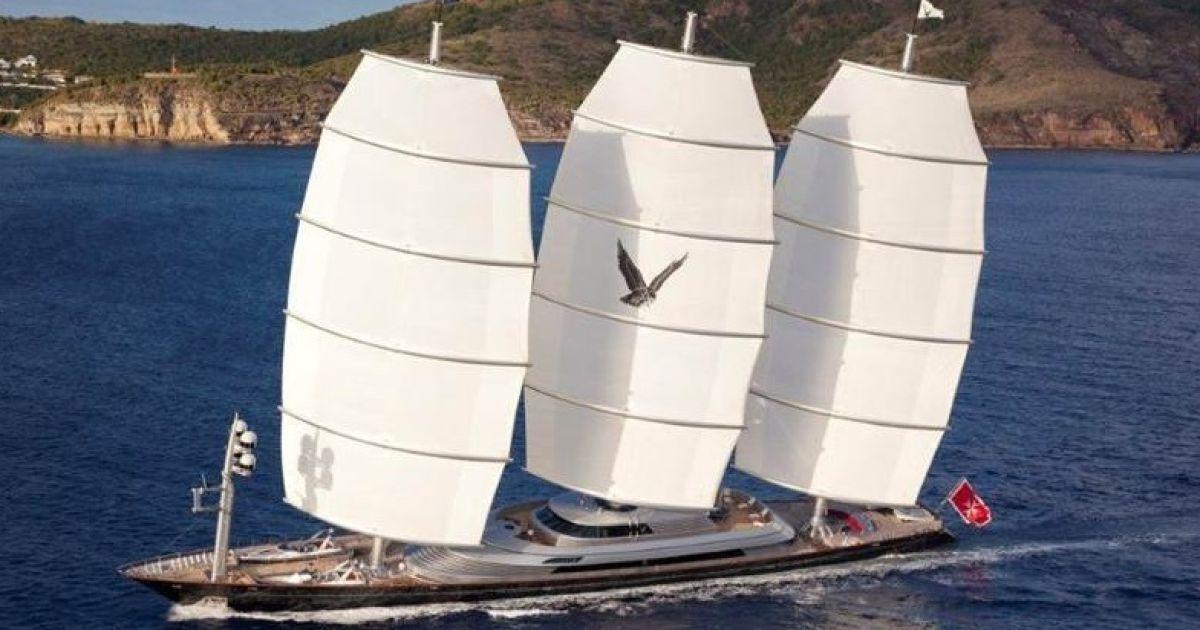 Песков арендовал яхту за 340 тысяч евро в неделю. @ navalny.com