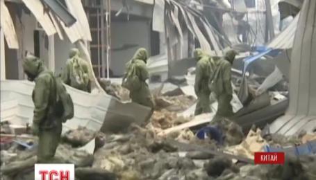 На складах химикатов в Китае вновь прогремел взрыв
