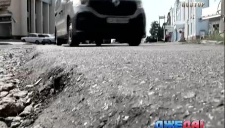 Водители определили рейтинг самых худших дорог в Украине