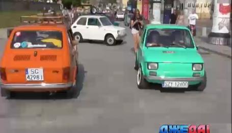 Полтысячи раритетных «Фиатов» собрались в Кракове
