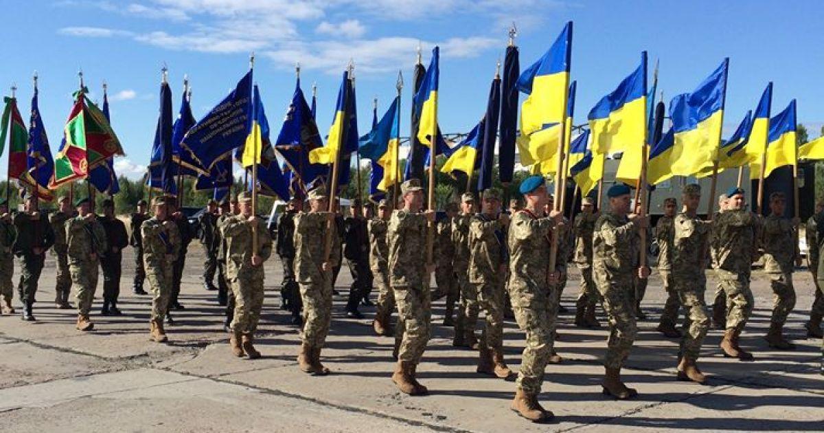 Украина впервые празднует День защитника