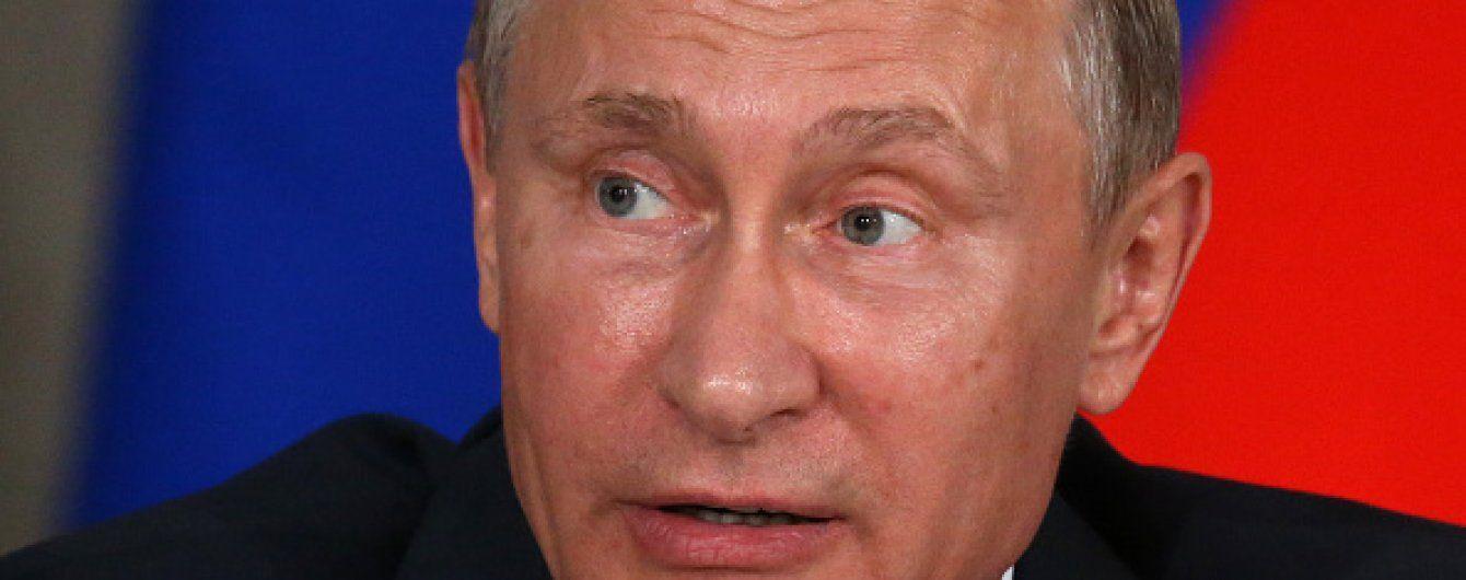 Путін заморожує війну на Донбасі - Bloomberg