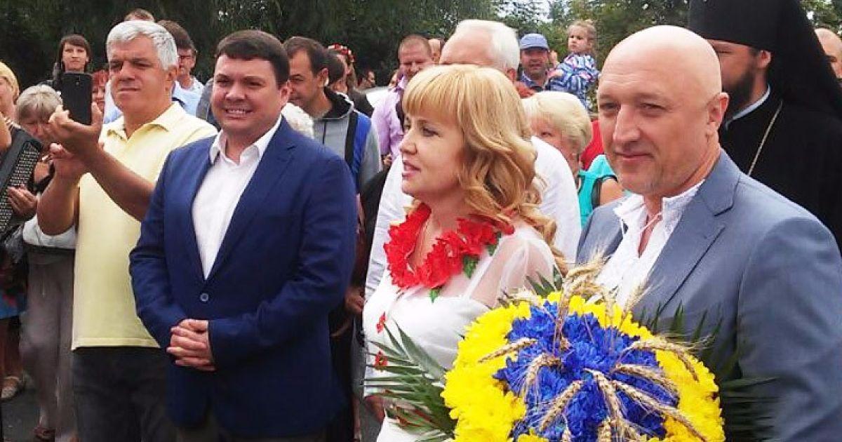 Під час відкриття Сорочинського ярмарку @ Полтавщина