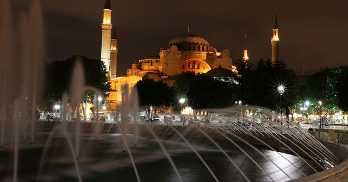 Собор Святой Софии, Турция @ flickr.com