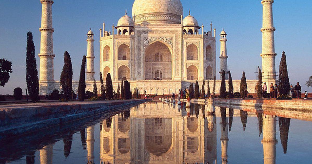 Тадж-Махал, Индия @ flickr.com