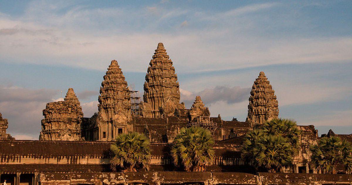 Ангкор-Ват, Камбоджа @ flickr.com