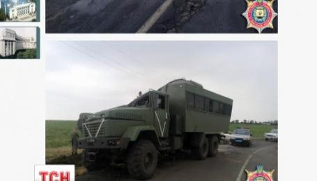 Українські військові потрапили в ДТП на трасі Волноваха - Хлібодарівка