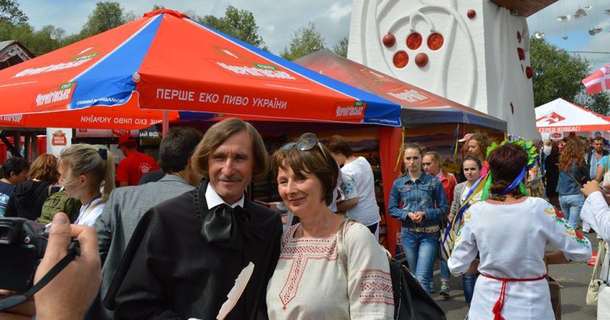"""Неофіційний """"Гоголь"""" ярмарку @ Фото Віталія Скобельського"""