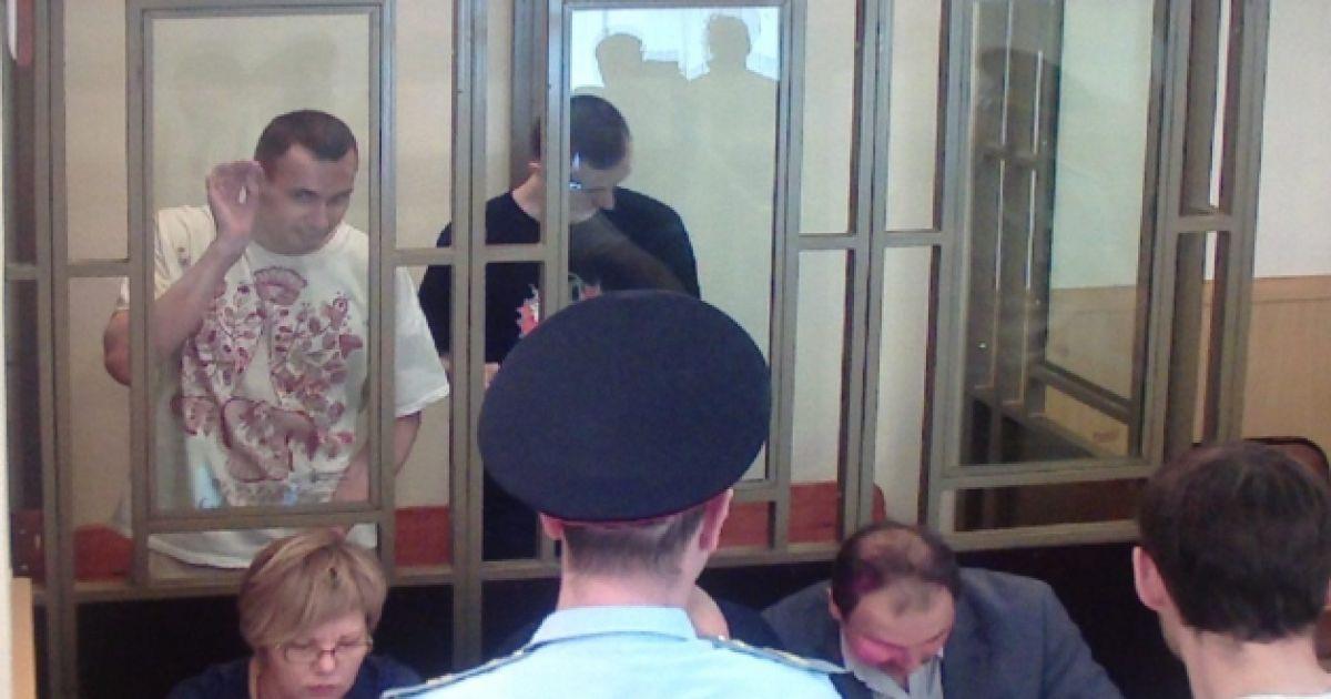 Савченко прийшла підтримати Сенцова