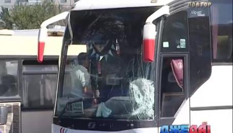 В Харькове произошло две аварии с участием общественного транспорта