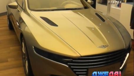 Aston Martin Lagonda стоит миллион евро