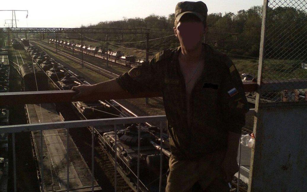 Фотодоказательства российской техники на границе с Украиной / © informnapalm.org