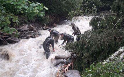 Велика вода прибуває: мешканців Прикарпаття попереджають про підтоплення окремих населених пунктiв