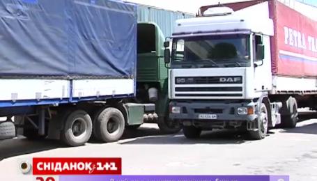 Министерство инфраструктуры предлагает сделать дороги для грузовиков платными