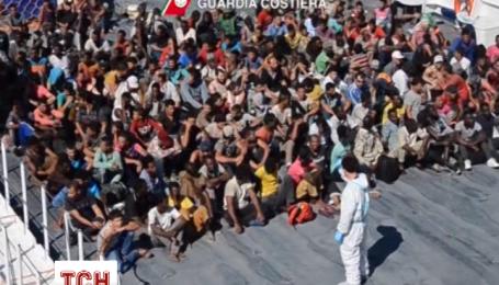 Итальянская береговая охрана спасла более 500 мигрантов