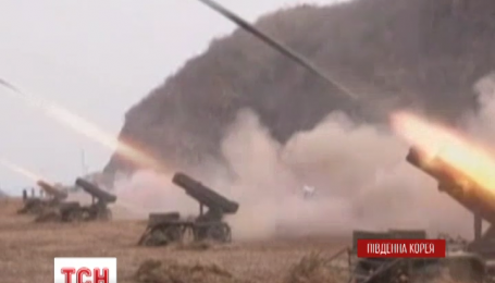 Северная и Южная Кореи снова стреляют друг в друга