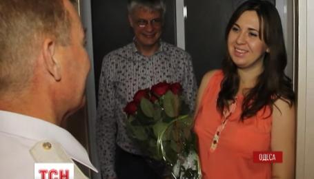 В Одессе беременная вдова бойца АТО получила квартиру от благотворительного фонда Игоря Палицы