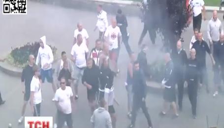 13 человек задержали после столкновения между польскими и украинскими фанами