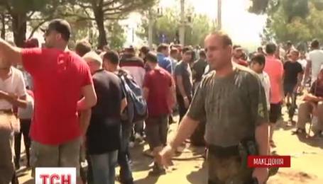Беженцы заставили Македонию объявить чрезвычайное положение