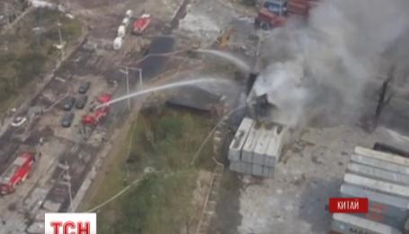 В пострадавшем от взрывов китайском Тяньцзине вспыхнули четыре новых пожара