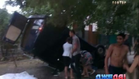 В Измаиле в масштабном ДТП пострадали четверо детей