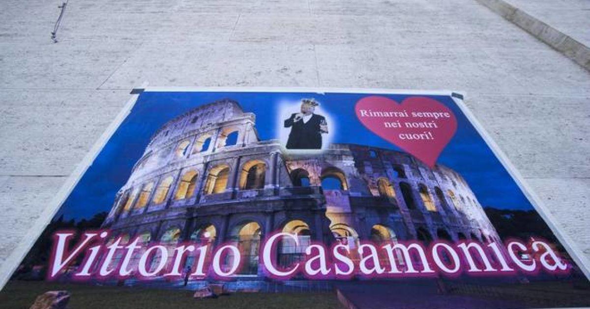 Похороны босса итальянской мафии Витторио Кассамоники @ IL Messaggero