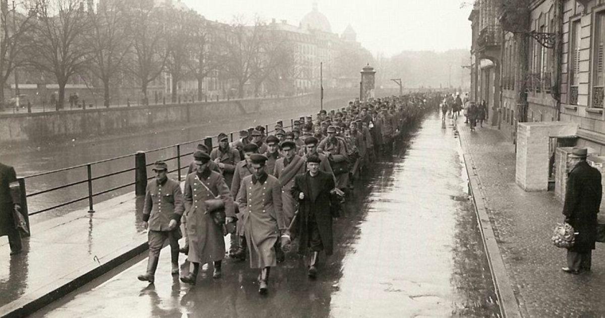 Военнопленные из немецкой военной полиции и Гестапо. @ Argunners