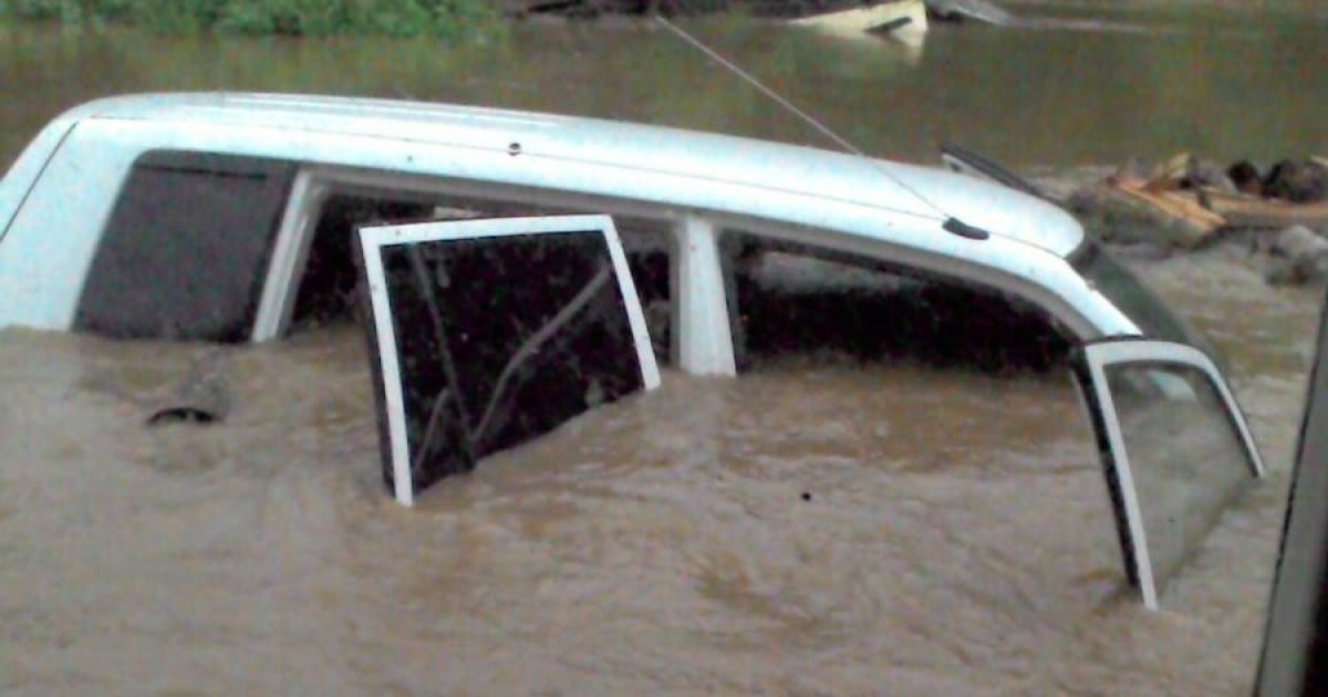 Село затопили канализационные стоки @ Primamedia