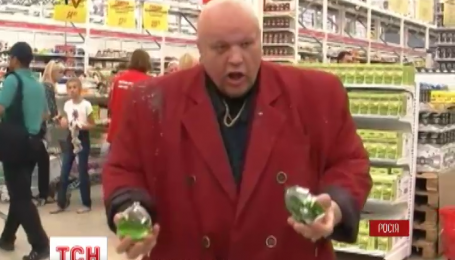 В супермаркете Санкт-Петербурга казаки дали бой пиву