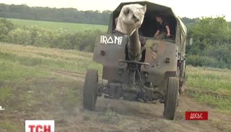 Вечером Киев обстреляли из пушек калибра 152 миллиметра, правда, пустых