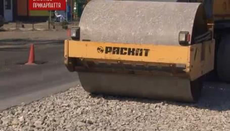 Наконец ремонтируют дорогу государственного значения Стрый-Черновцы