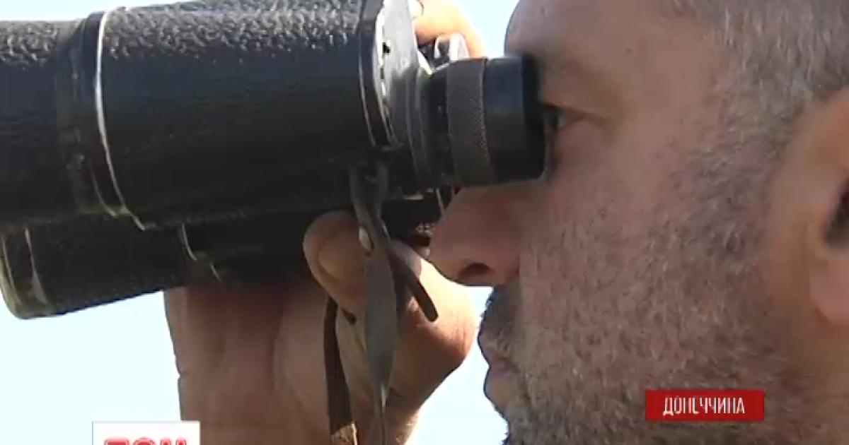 Українським військовим заборонили стріляти по бойовиках біля Донецька