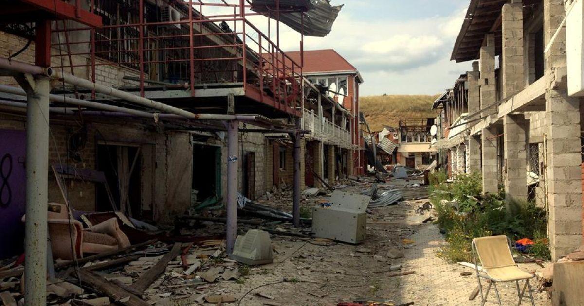 Широкино превратился в поселок-призрак.