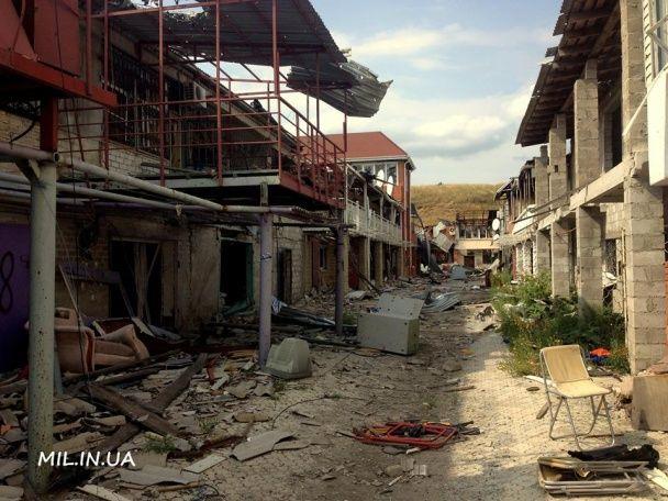 Поселок-призрак: морпех показал, как сейчас выглядит Широкино