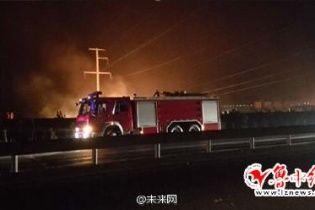 У Китаї на хімзаводі стався потужний вибух