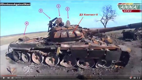 Російський танк, пропагандою РФ виданий за український пропагандою_2