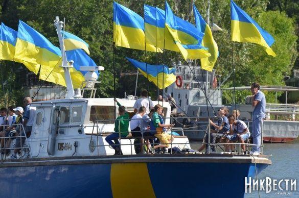 День прапора у Миколаєві, регата_7