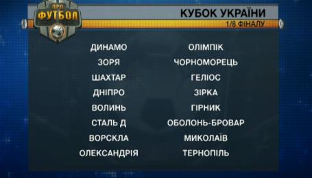Минус четверо из элиты. Определились счастливчики 1/8 финала Кубка Украины