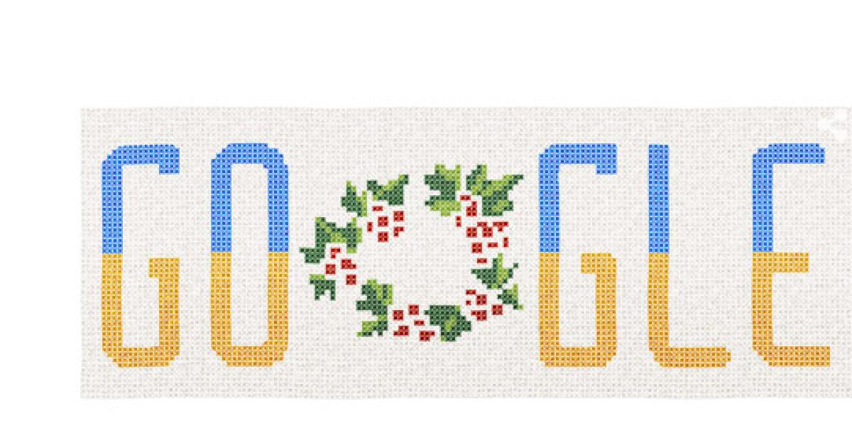 Пошуковик Google прикрасили вишиванкою