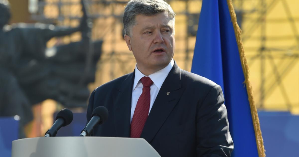 Порошенко призвал мир единым фронтом выступить против российской агрессии