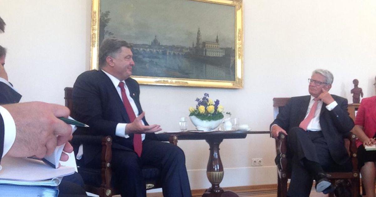 Порошенко надеется на поддержку украинистики в немецких вузах