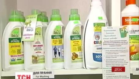 В России власть взялась за импортные моющие средства