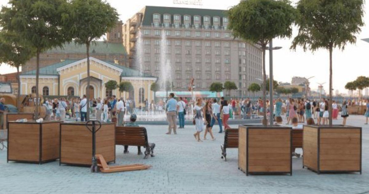 В Киеве открыли Почтовую площадь @ Вести