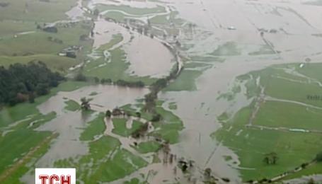 Проливные дожди вызвали наводнение в Австралии