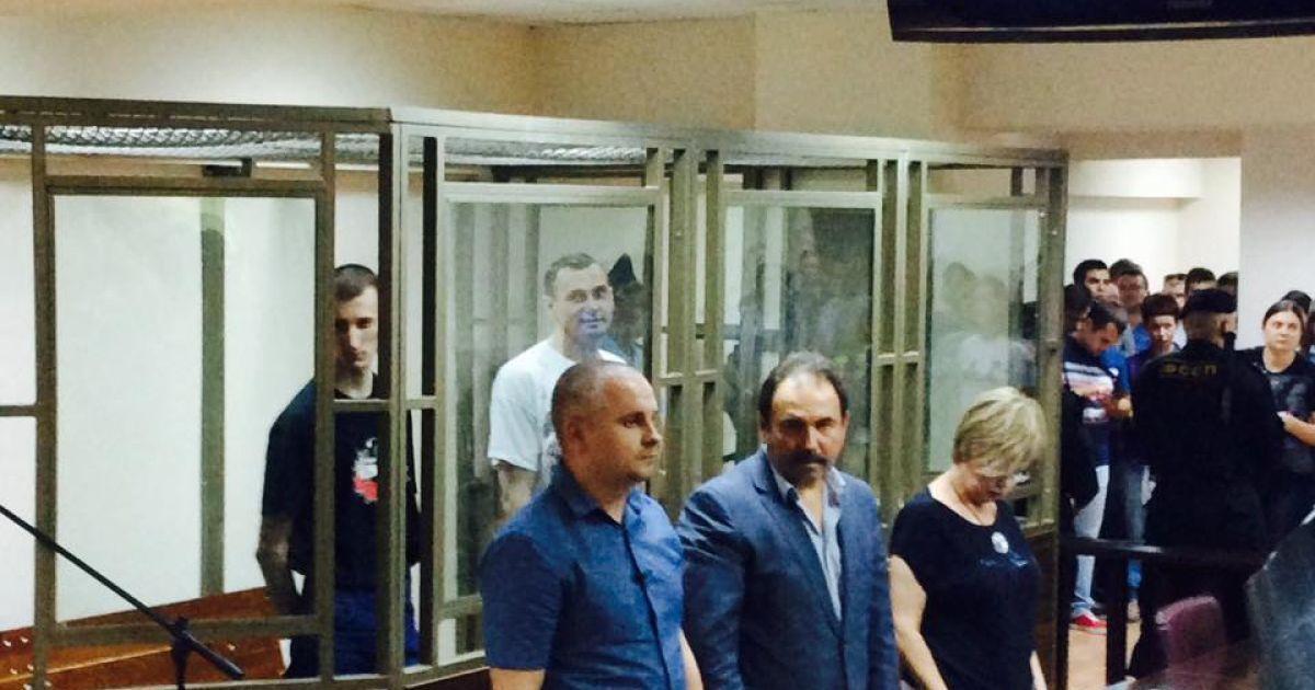 Сенцову та Кольченку оголосили вирок @ ТСН.ua