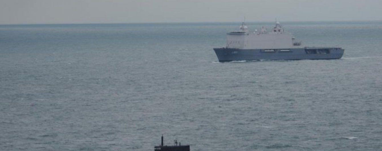 Новейшая российская субмарина зашла в Средиземное море