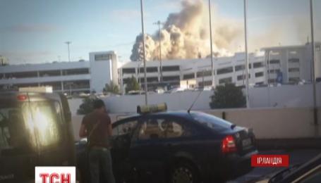 Через пожежу аеропорт Дубліна тимчасово призупинив роботу