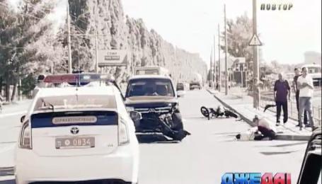 В Сумах смертельное ДТП произошло с участием мотоцикла